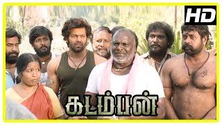 Kadamban Tamil Movie | YG Mahendra teaches to extract honey at home | Arya | Catherine Tresa