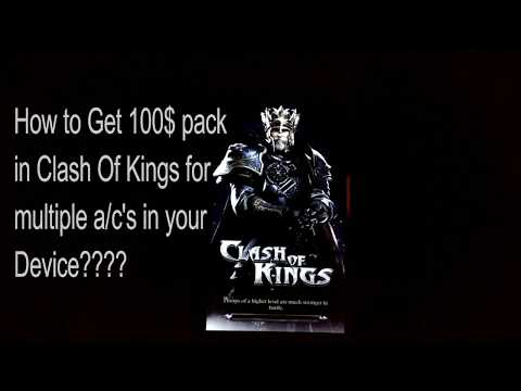 Clash Of Kings--Get 100$ Pack For FREE