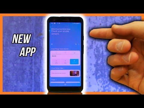 how-does-the-new-smartthings-app-work?-full-app-walk-through!