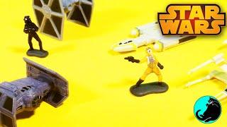 Star Wars Micro Machines Trench Run Disney Hasbro Toy Unboxing