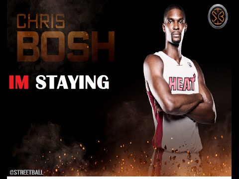 NBA Free Agency 2014-CHRIS BOSH RETURNS TO THE HEAT 5YRS 118M