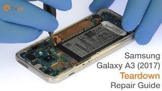 Samsung Galaxy A3 (2017) Teardown Repair Guide - Fixez.com