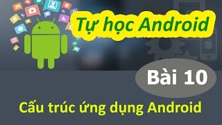 Học lập trình Android - Bài 10 Cấu trúc ứng dụng Android