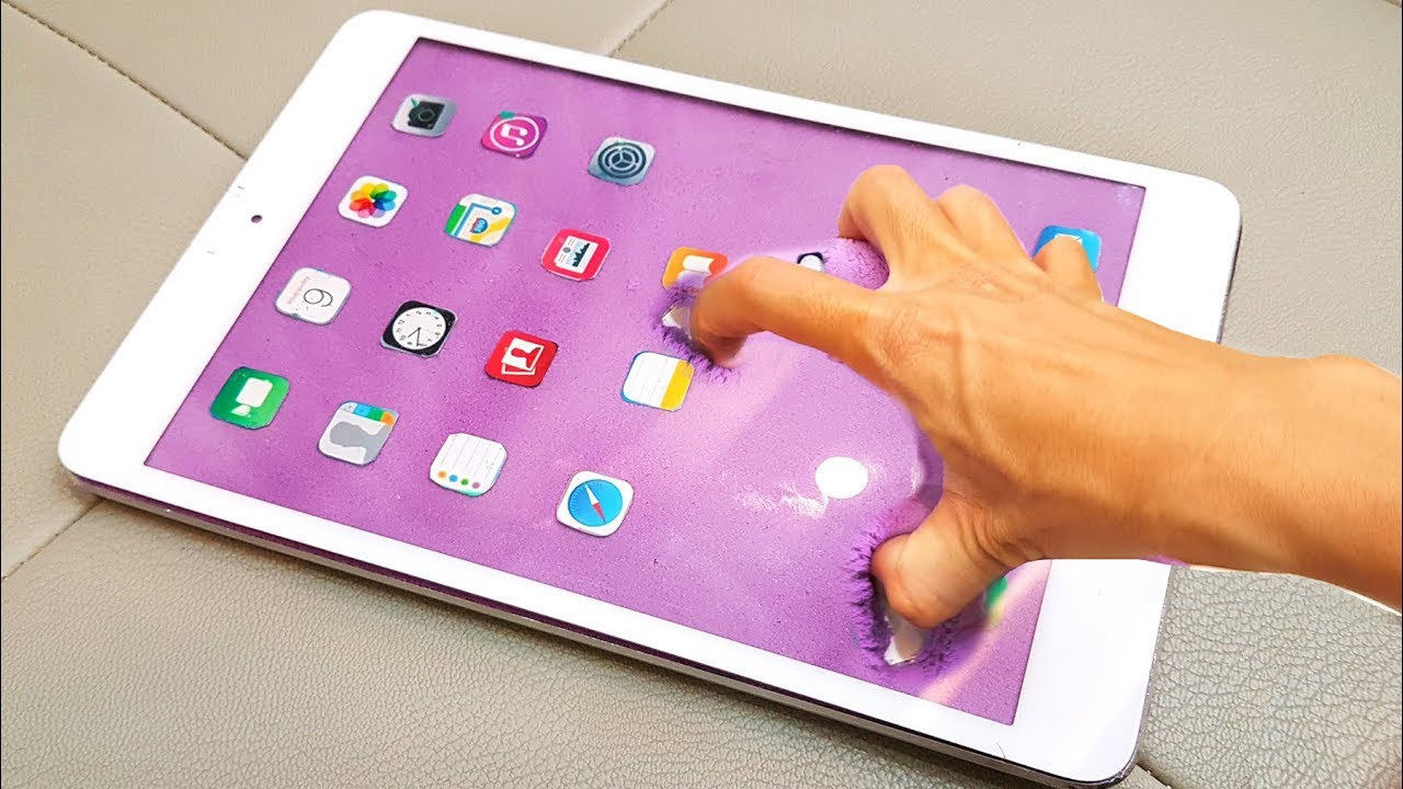 DIY how to make crushing a mini iPad!