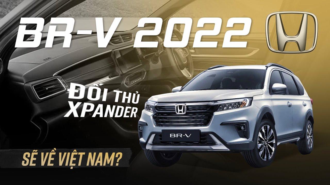 Honda BR-V 2022 ra mắt, nhiều công nghệ cạnh tranh Xpander khi về Việt Nam?