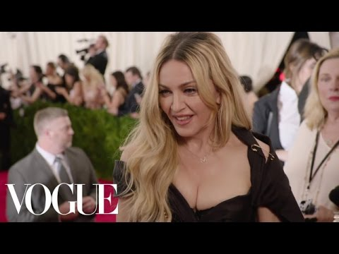 Madonna and Diplo at the Met Gala 2015 | China: Through the Looking Glass