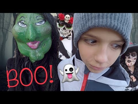 HUNTING WITCHES IN REAL LIFE! HALLOWEEN SCAVENGER WITCH HUNT