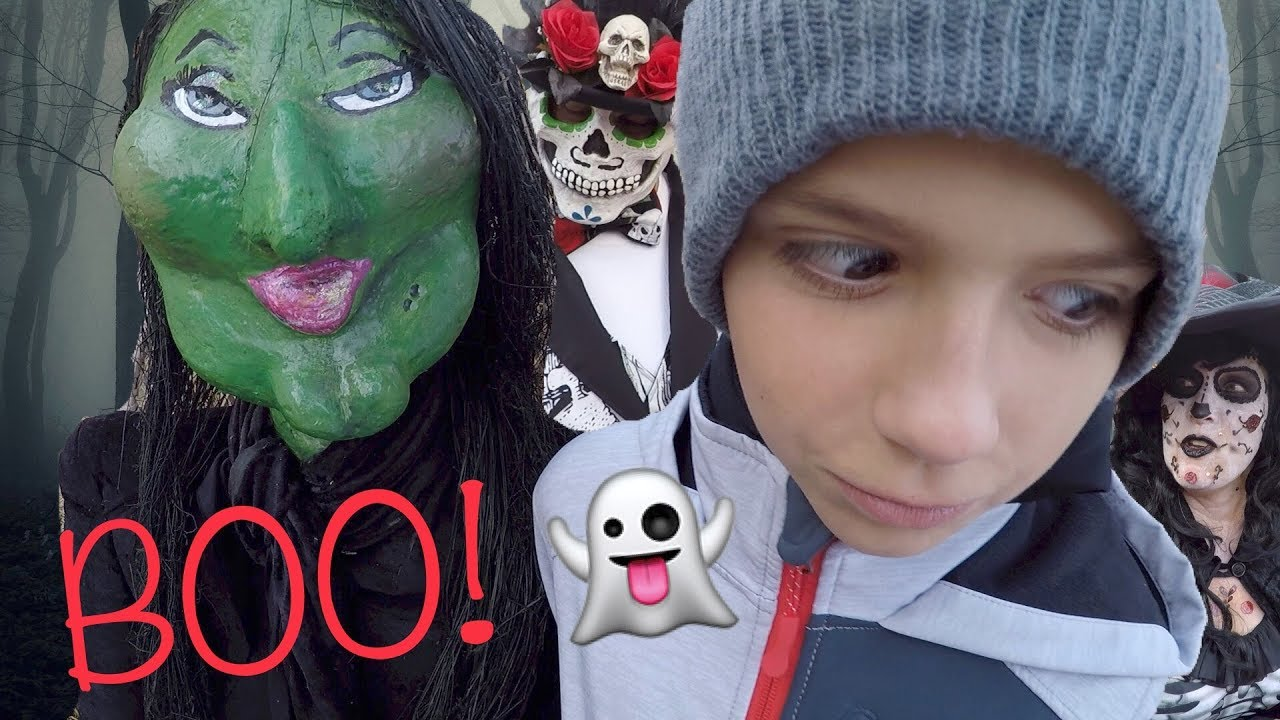 HUNTING WITCHES IN REAL LIFE! HALLOWEEN SCAVENGER WITCH ...