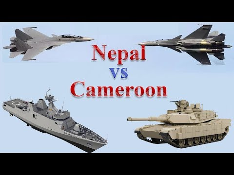 Nepal vs Cameroon Military Comparison 2017