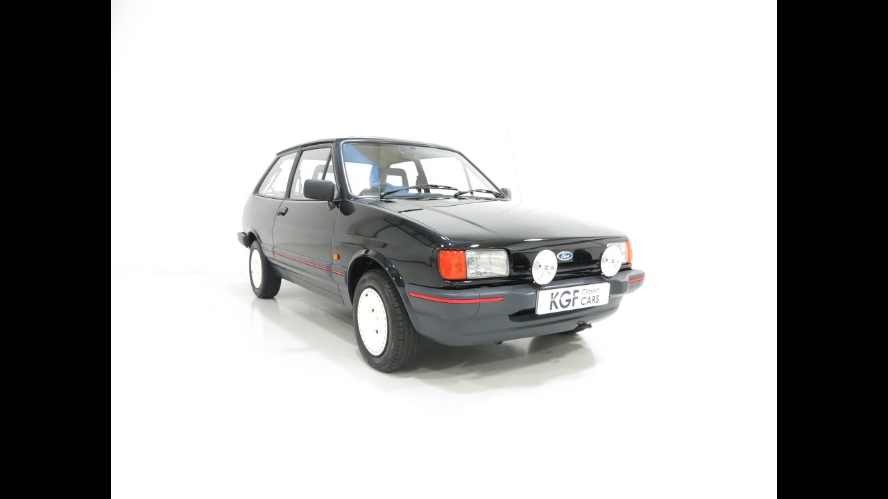 a virtually extinct model a ford fiesta mk2 1 4s with. Black Bedroom Furniture Sets. Home Design Ideas