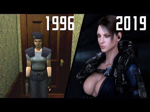 تطور ألعاب ريزدنت إيفل 1996 - 2019 Evolution Of Resident Evil Games II