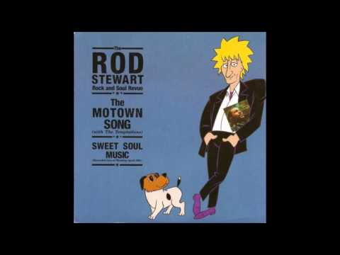 Rod Stewart with The Temptations - The Motown Song Power Mix