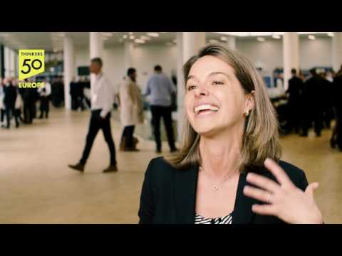 Interview with Erin Meyer at the European Business Forum 2017 in ODEON, Odense