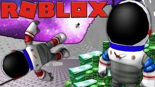 I WENT TO SPACE!? - ROBLOX MINING SIMULATOR #5