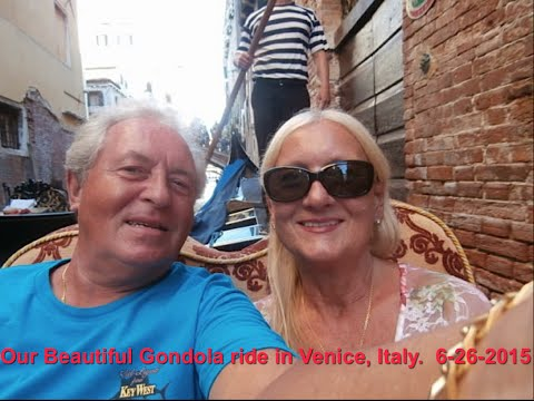 Fabulous Gondola Ride In Venice, Italy.6-26-2015 Long version. HD