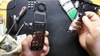 Чистка кнопок радіо телефон Panasonic KX-TG2511