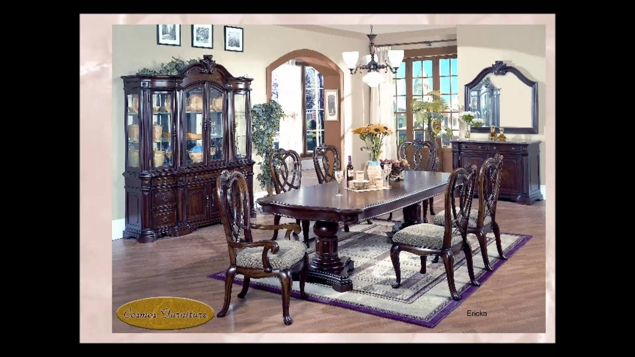 Dining room furniture tables and chairs dining sets for Dining room tables you tube