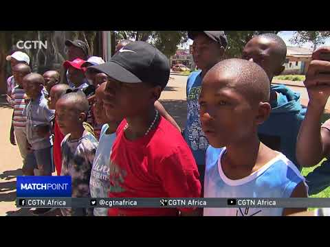 South Africa's players use sport to empower disdvantaged kids