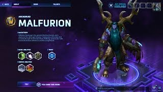 Heroes of the Storm #1 - Malfurion / Dragon Shire