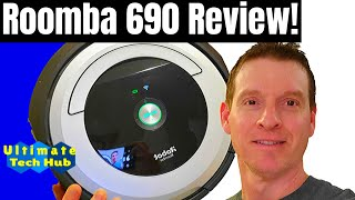 HOME AUTOMATION 101 -  THE ROOMBA 690 REVIEW - EPISODE 1