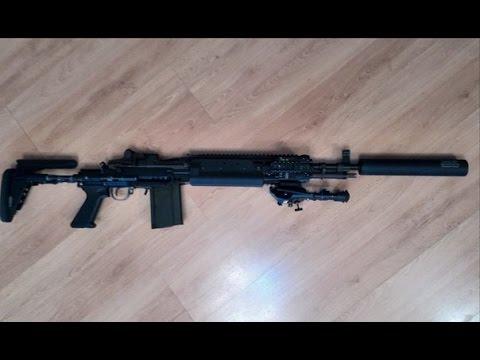WE M14 EBR MOD 0 GBB - YouTube