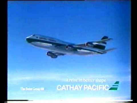 Cathay Pacific - more flights to Asia (1988 TV ad)