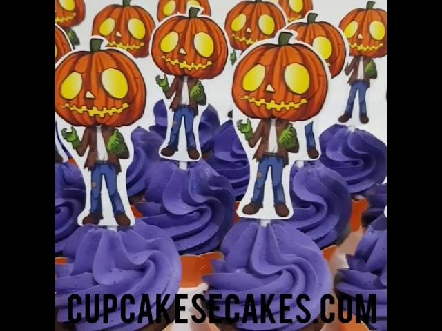 Cupcakes de Halloween 🍦❤🎂