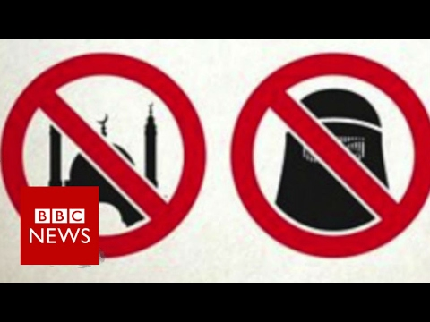 Muslims and gays 'are unwelcome here'  - BBC News