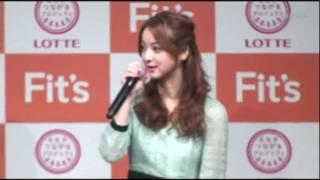 ロッテ「Fit's」の友達つくろうキャンペーン&新CM発表会に佐藤健...