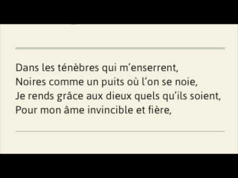 Invictus En Français Youtube