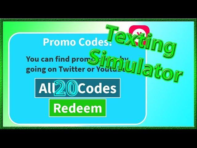 All Codes for Texting Simulator *20 Codes & Nasa Secret Code
