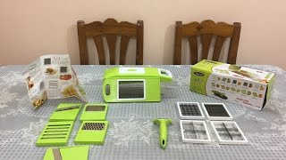 Vegetable Cutter Review | Famous Vegetable And Fruit Cutter & Slicer Chopper Review