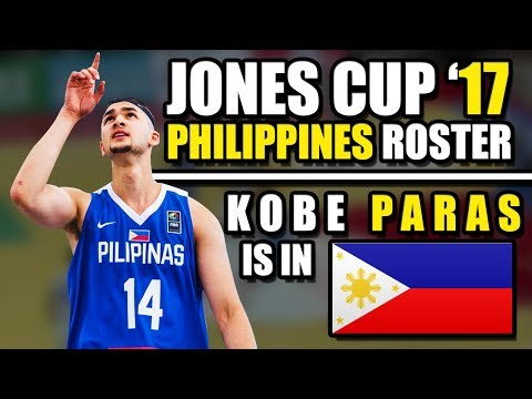 gilas-pilipinas-roster-for-william-jones-cup-2017-|-is-kobe-paras-ready?-ᴴᴰ
