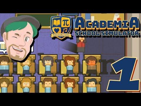 CHEF skolan! | Academia School Simulator #1