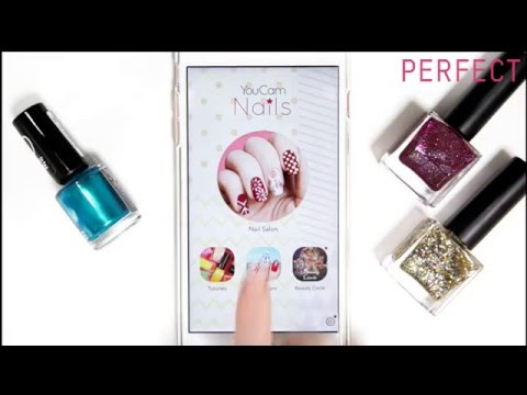 [YouCam Nails] The Mobile Nail Art App to Design Your Next Look