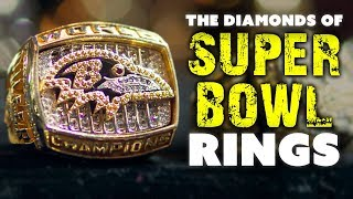 The Diamonds & Gems of Super Bowl Rings