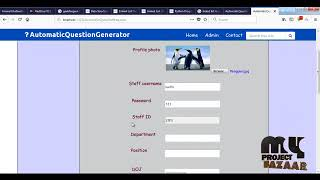 Automatic Question Generator System