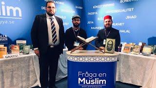 Monterintervju - Fråga en muslim - Bokmässan 2018