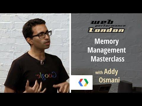 Memory Management Masterclass with Addy Osmani