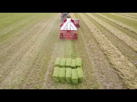 Kuhns Mfg Small Square Bale Handling System Overview