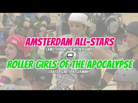 Amsterdam Derby Dames vs. Roller Girls of the Apocalypse (HD)