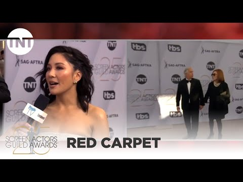 Constance Wu: Red Carpet Interview | 25th Annual SAG Awards | TNT