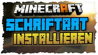 MINECRAFT Schriftarten installieren - Tutorial (Deutsch) 3 Minecraft-Fonts