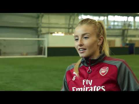 13/10/17 - Interview with Leah Williamson of Arsenal WFC (1080p  HD)