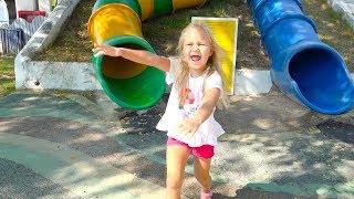 Алиса парке развлечений SANTORINI PARK для детей !!
