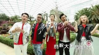 Guji Guji LNY 2017 咕鸡咕鸡庆丰年 2017 - 万年红