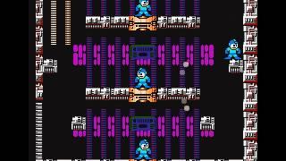 Megaman 3 NES - Holographic Megamen - Buster Only - No Damage