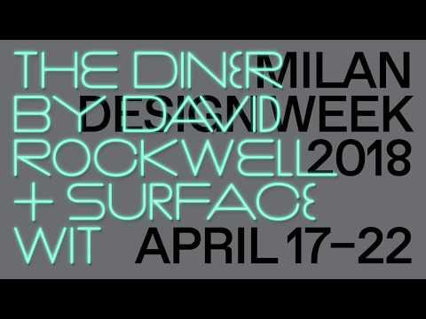 Surface diner David Rockwell. Salone del mobile 2018
