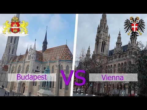 New Year trip to Budapest and Vienna