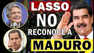 PRESIDENTE ECUATORIANO DECIDE QUIEN MANDA EN VENEZUELA